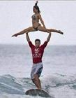 冲浪搞笑图片