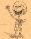 卡通人物X光图片