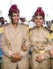 卡扎菲神秘女保镖们图片