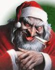 圣诞老人恶搞图片