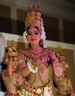 柬埔寨美女传统舞蹈