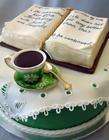 创意美味的书型蛋糕