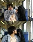 一个人拍出与女友旅行的照片