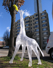 创意胶带雕塑作品