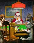 圣诞老人穿越名画