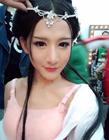 中国最美伪娘小灿生活照