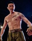 中国男明星肌肉照