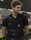 巴西地铁帅哥保安
