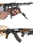 外国精致枪械模型