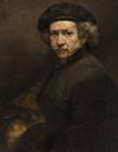 伦勃朗作品,伦勃朗自画像,伦勃朗油画作品
