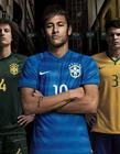 2014世界杯球衣发布