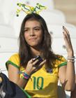巴西世界杯女球迷