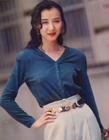 台湾第一美女萧蔷年轻时的照片