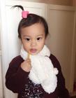 爸爸回来了甜馨最新照片,李小璐贾乃亮女儿