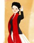 彭丽媛Q版漫画,彭丽媛照片,彭丽媛图片
