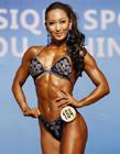中国美女健美冠军牟丛|牟丛胸围