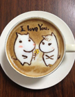 咖啡拉花�D片