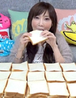 日本大胃王木下佑香 日本大胃王最新挑��6分�吃100片面包��l