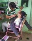 理发搞笑图片 理发店搞笑