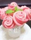 玫瑰馒头 玫瑰花馒头图片