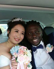 相恋6年中国姑娘与非洲小伙结婚