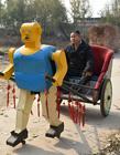 农民造机器人 中国机器人农民发明家