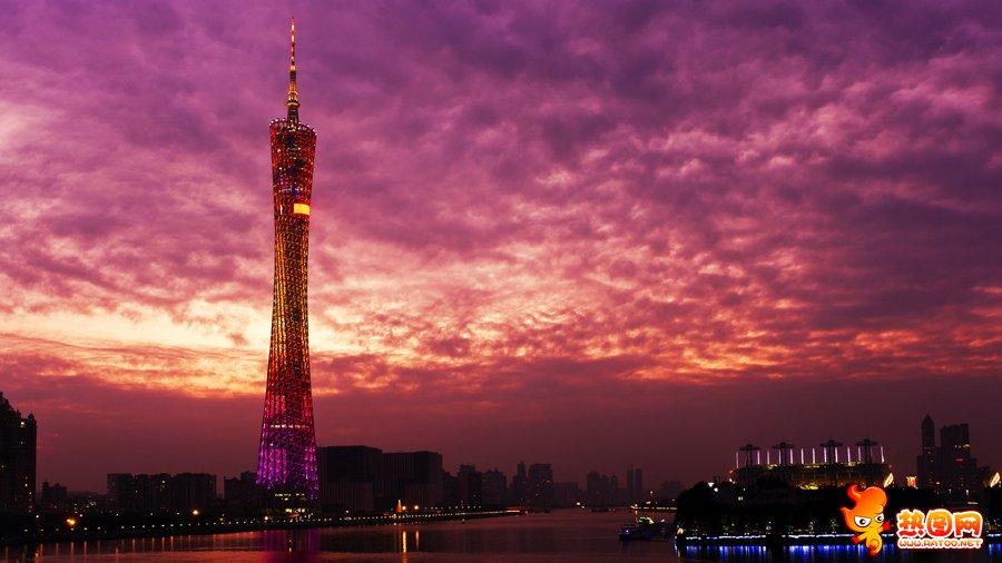 广州小蛮腰高清图片