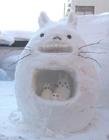 漂亮的雪人图片 真的雪人图片大全