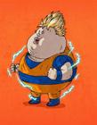 卡通人物都�成大胖子