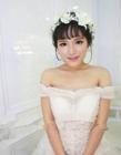 新娘妆前后对比照 新娘妆容对比