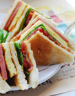 早餐三明治图片 创意三明治图片