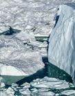 北极冰川融化 北极冰层融化