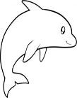 海豚简笔画图片大全 海豚简笔画步骤
