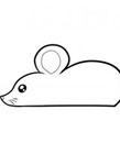 老鼠简笔画图片大全 老鼠简笔画步骤图