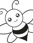 蜜蜂简笔画图片大全 蜜蜂怎么画简笔画