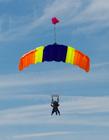 跳伞图片 高空跳伞高清图片