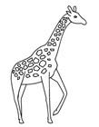 长颈鹿怎么画简笔画