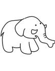 大象怎么画最简单儿童