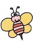 蜜蜂怎么画可爱
