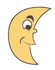 月亮简笔画图片