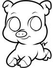 猪怎么画简单又漂亮