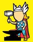 超级英雄兼职工作打工漫画
