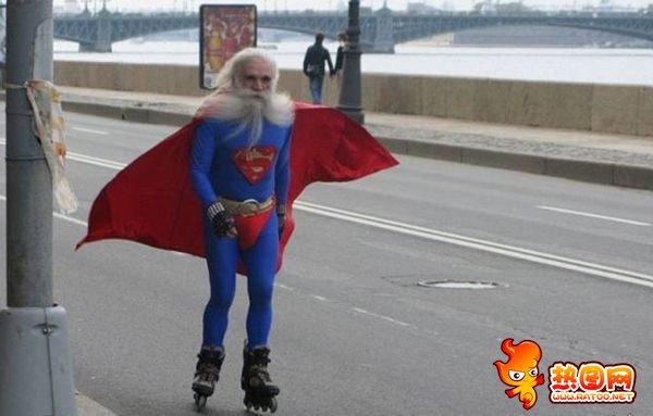 大爷版,超人
