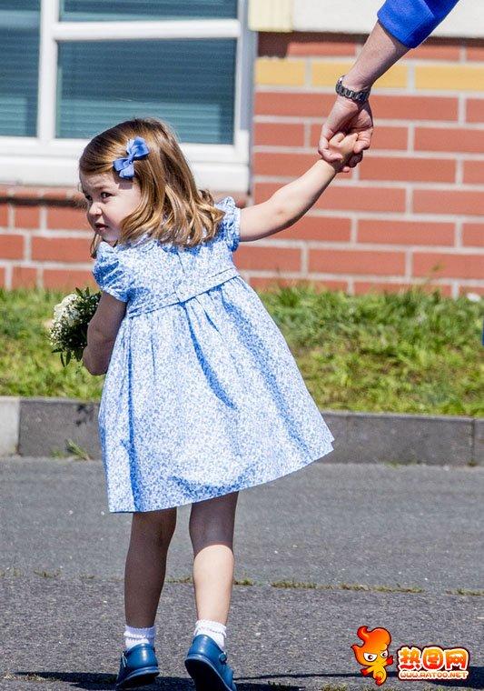 夏洛特小公主最新照片