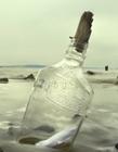唯美漂流瓶图片