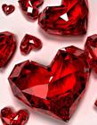 不同颜色的钻石图片