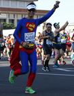 2017北京马拉松选手奇葩造型