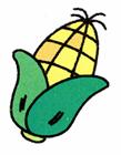 玉米简笔画步骤