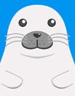 卡通小海豹表情包 小海豹表情