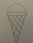 最简单的冰淇淋怎么画 今天小编就来教你